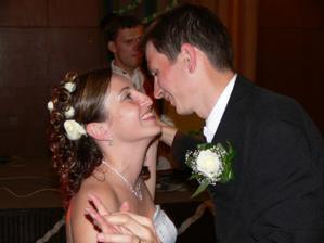 náš prvý novomanželský tanec
