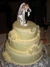 nasa svadobná tortička
