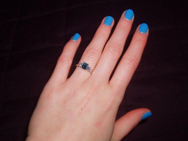 Wedding ideas - Muj nadherny zasnubni prstynek
