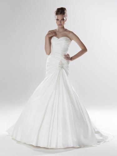 Wedding ideas - a na modelce