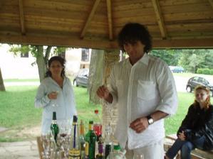 ráno po svadbe.......oslavovali sme do šiestej večera