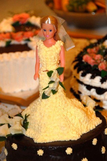 Krasne okamihy a detaily 4.augusta 2007 - nadherna torta nevesta