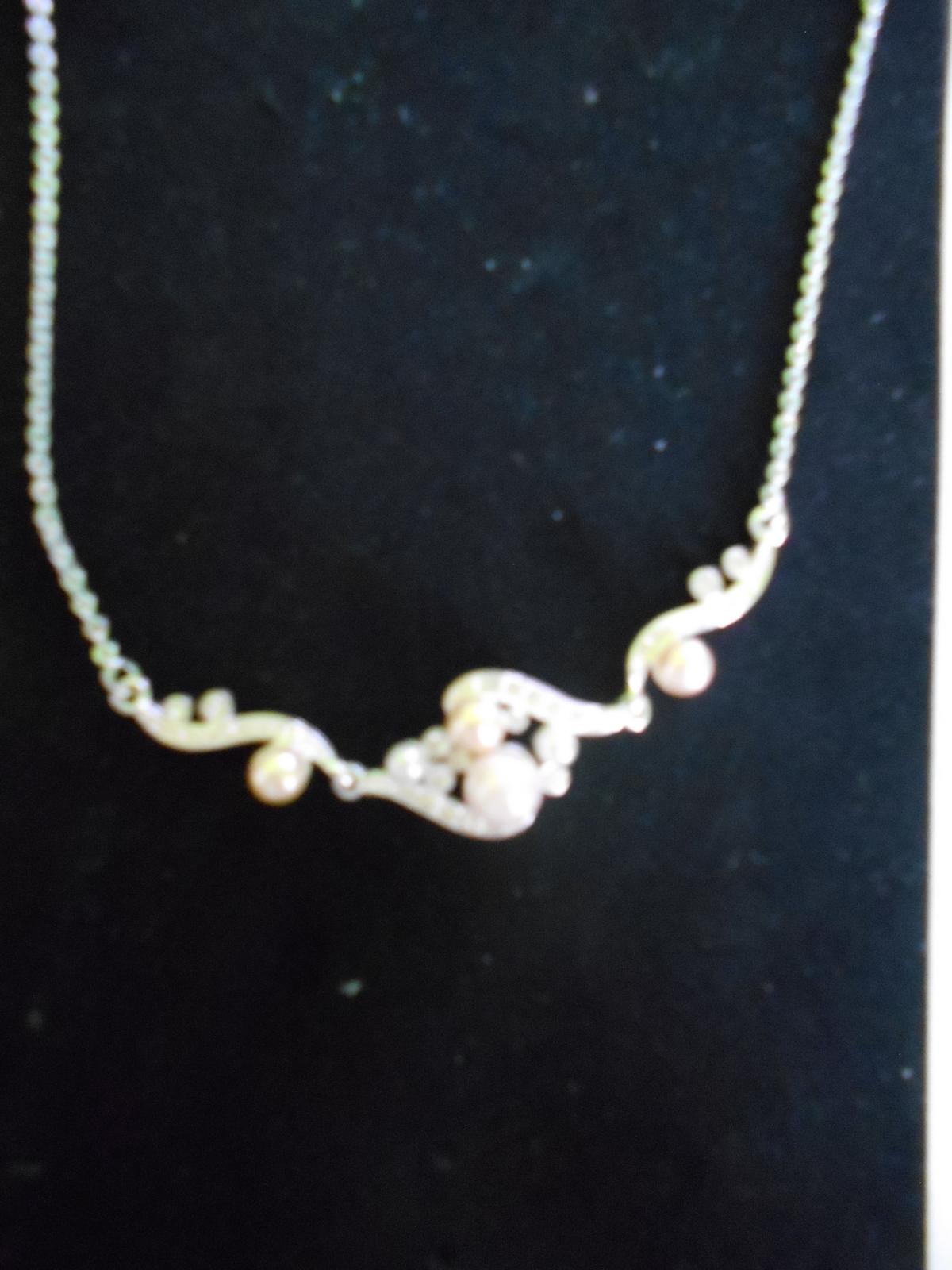 Náhrdelník s perličkami  - Obrázok č. 2