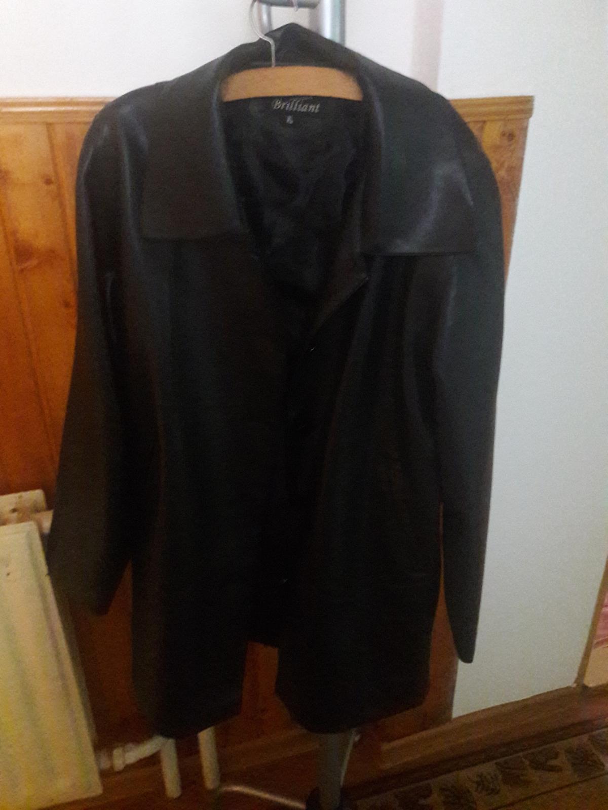Damská koženková bunda - Obrázok č. 1