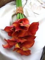 jak by mohla vypadat svatební kytka