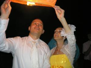 Baloniky stastia... uzasna zabavka pre vsetkych hosti, mladych aj starych...