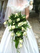 Pro nevěstu ... :) také oranžovo-bílá