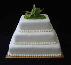 náš dortík, akorát na vrcholu budou tuž/šky, jak jinak.o)