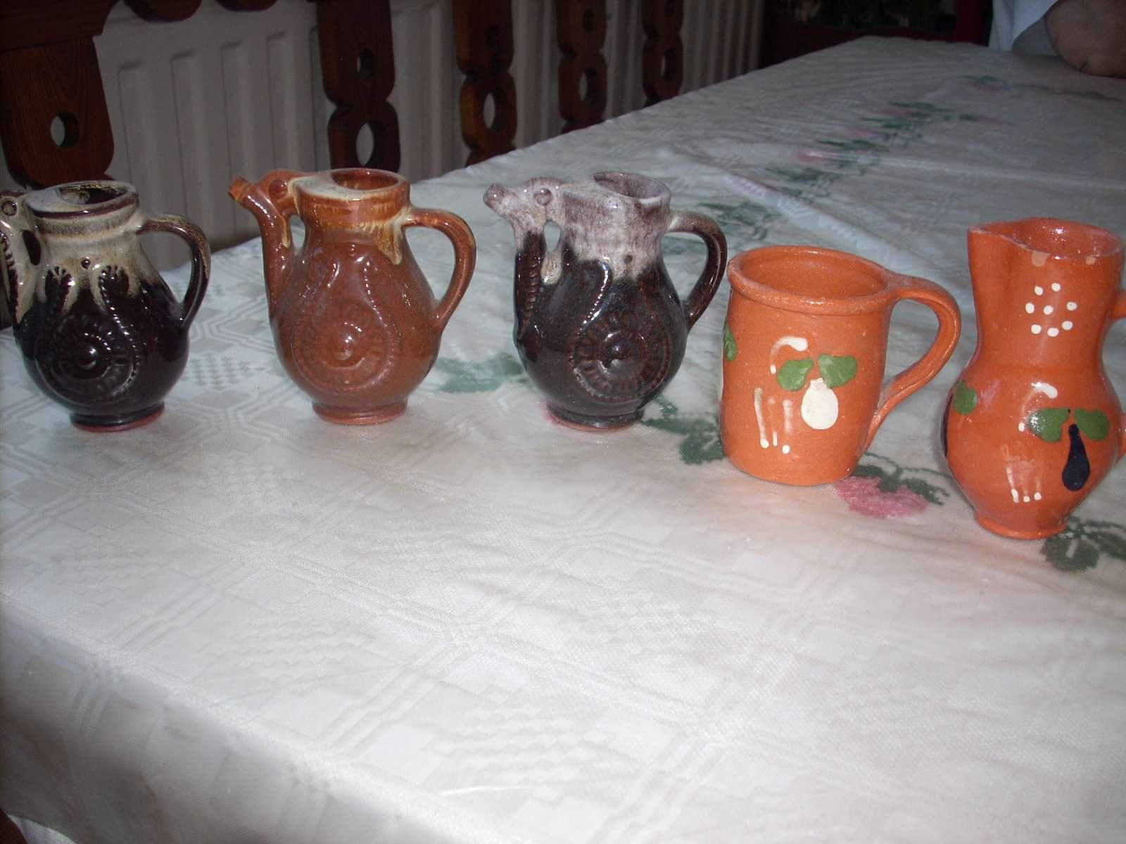 Keramické džbánky - Obrázok č. 1
