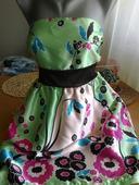 Saténové šaty, XL