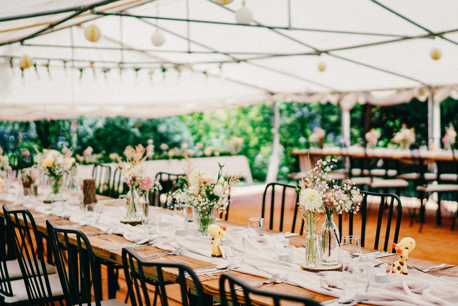 Záhradná svadba - inšpirácia - Obrázok č. 4