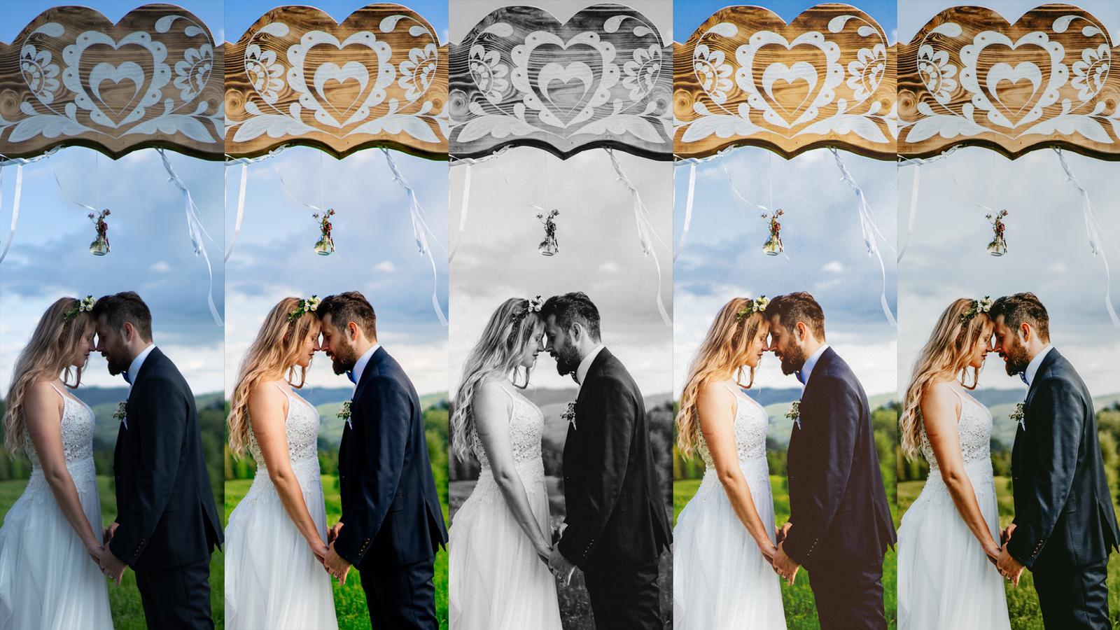 Ponuka profesionálneho spracovania svadobných fotografií - Obrázok č. 1