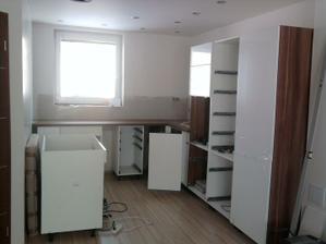 kuchyňka se rýsuje 2.12.2010