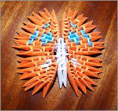 3D origami motýle, viac na : http://bujdosova.blog.sme.sk/c/321332/3D-origami-motyle.html
