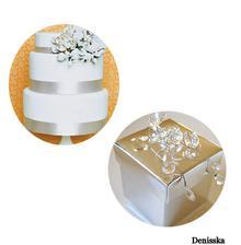 dortík je krásný,jednouchý a krabičky,no jo,zase ty korálky