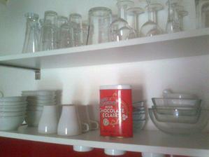 místo vršku kuchyňké linky:-)