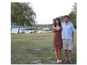 čerstvě zasnoubení-červenec 2007-Balaton