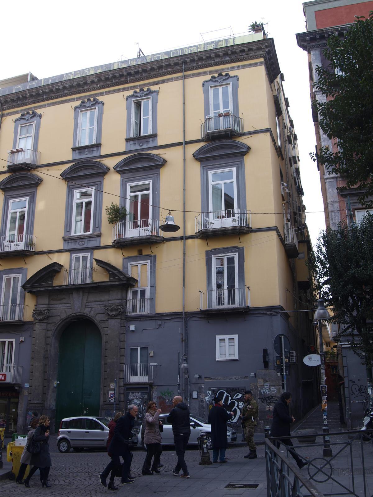 Architektúra  juh.itálie - neapol