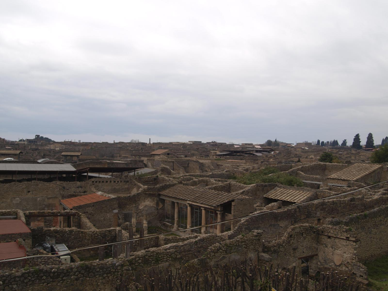 Architektúra  juh.itálie - pompej