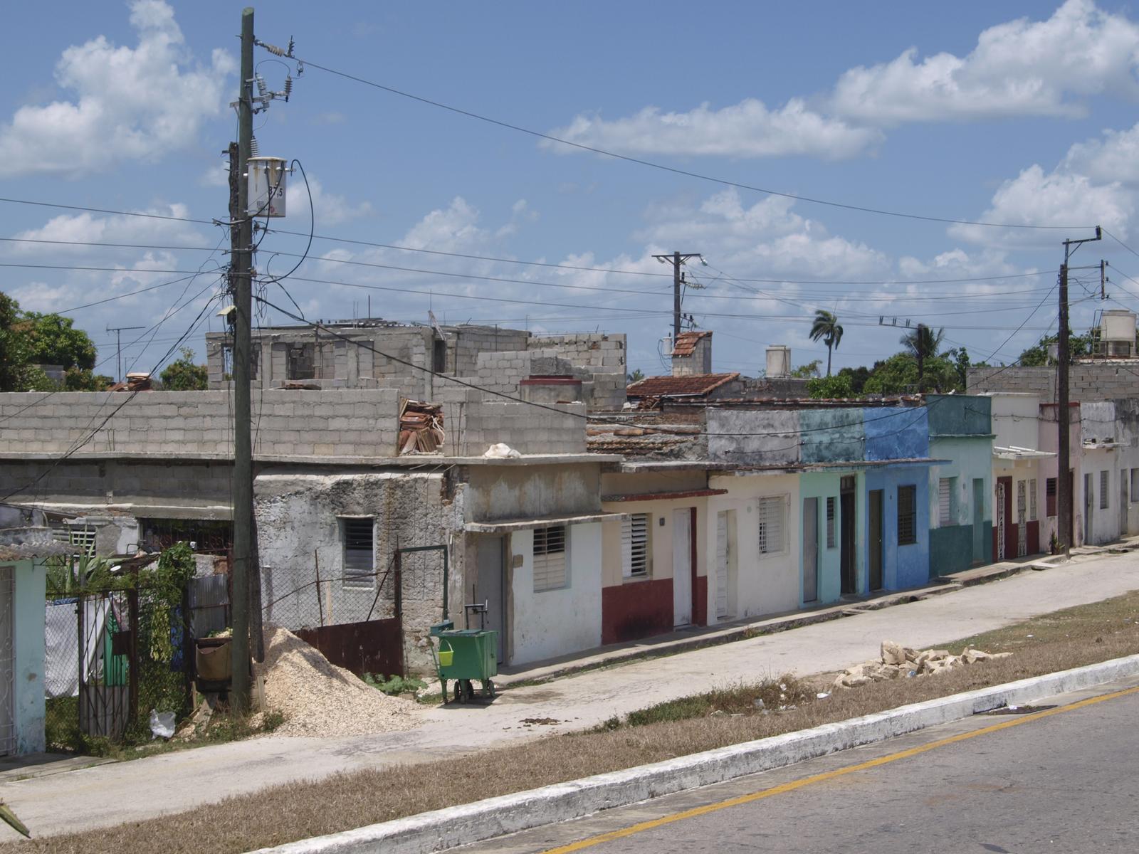 Kuba architektúra - dediny
