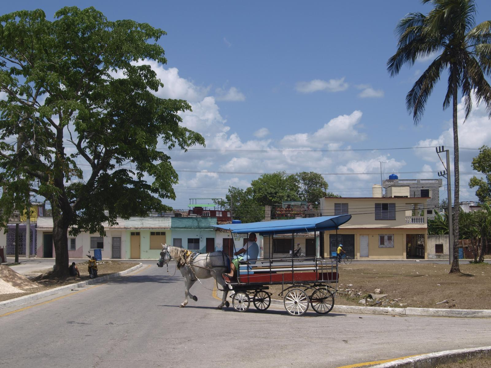 Kuba architektúra - niekde pri Santa Clara