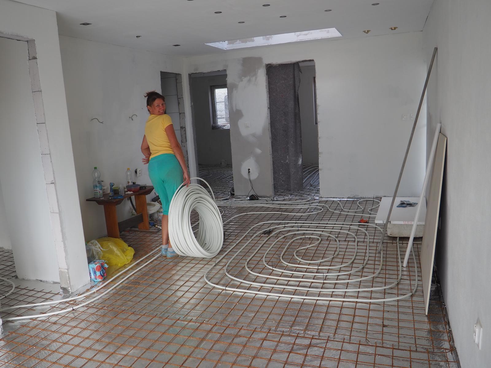 Senec šírka 8,5m - elektrokotol,podlahovka