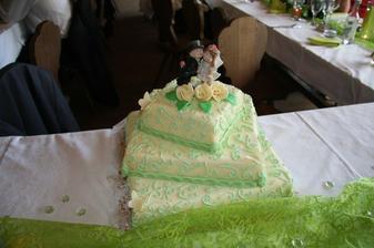 náš dortík - byl vynikající