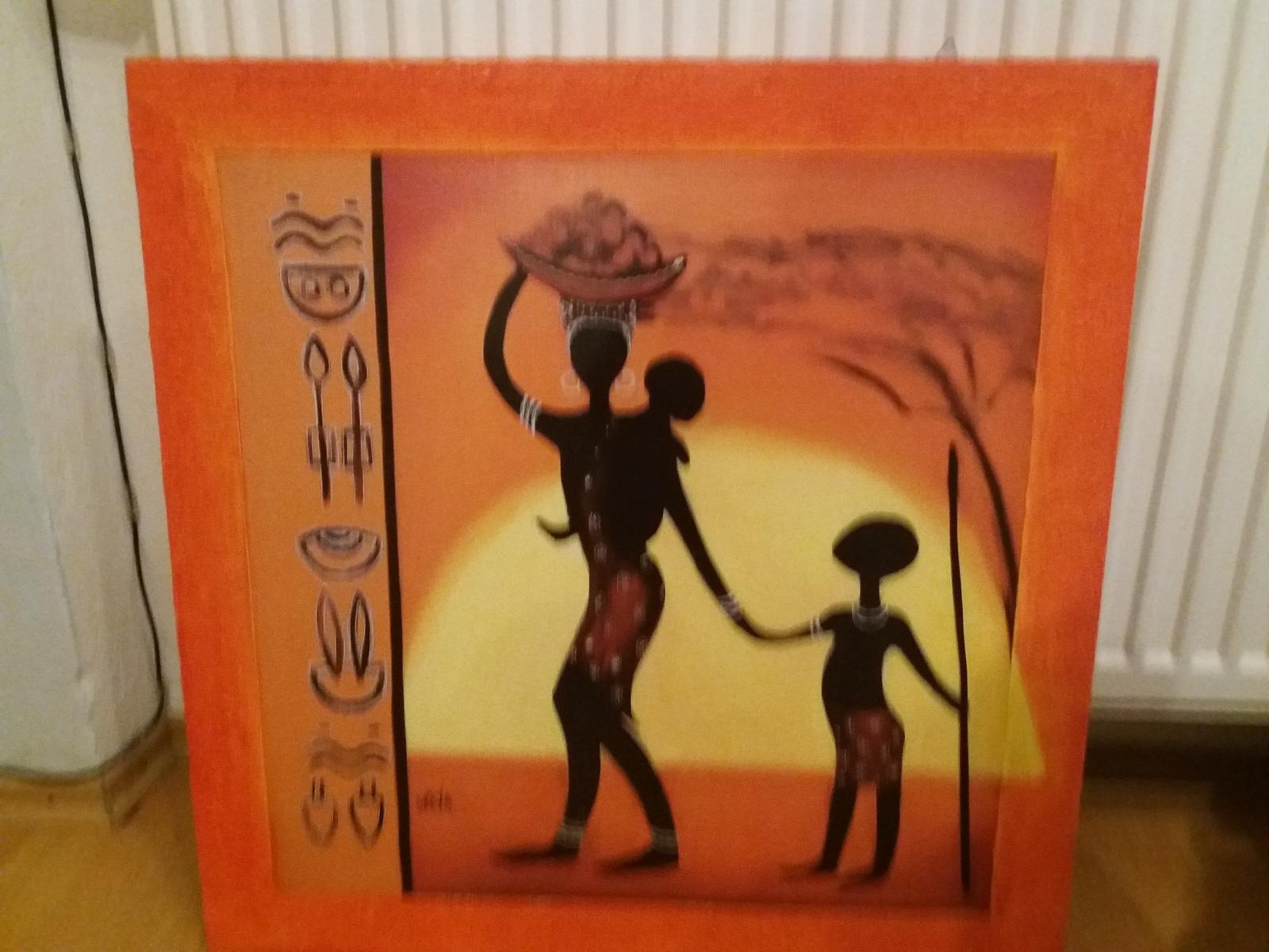 Obraz z africkou tematikou - Obrázok č. 1