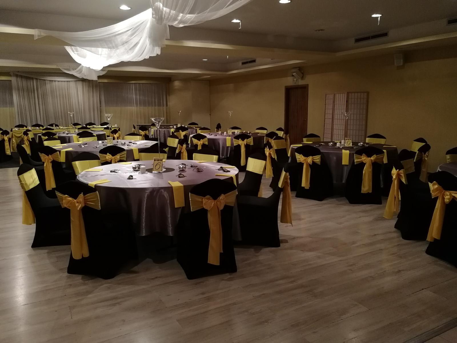 Svadba 14.9.2018 čierno-žlto-sivá kombinácia - Obrázok č. 8
