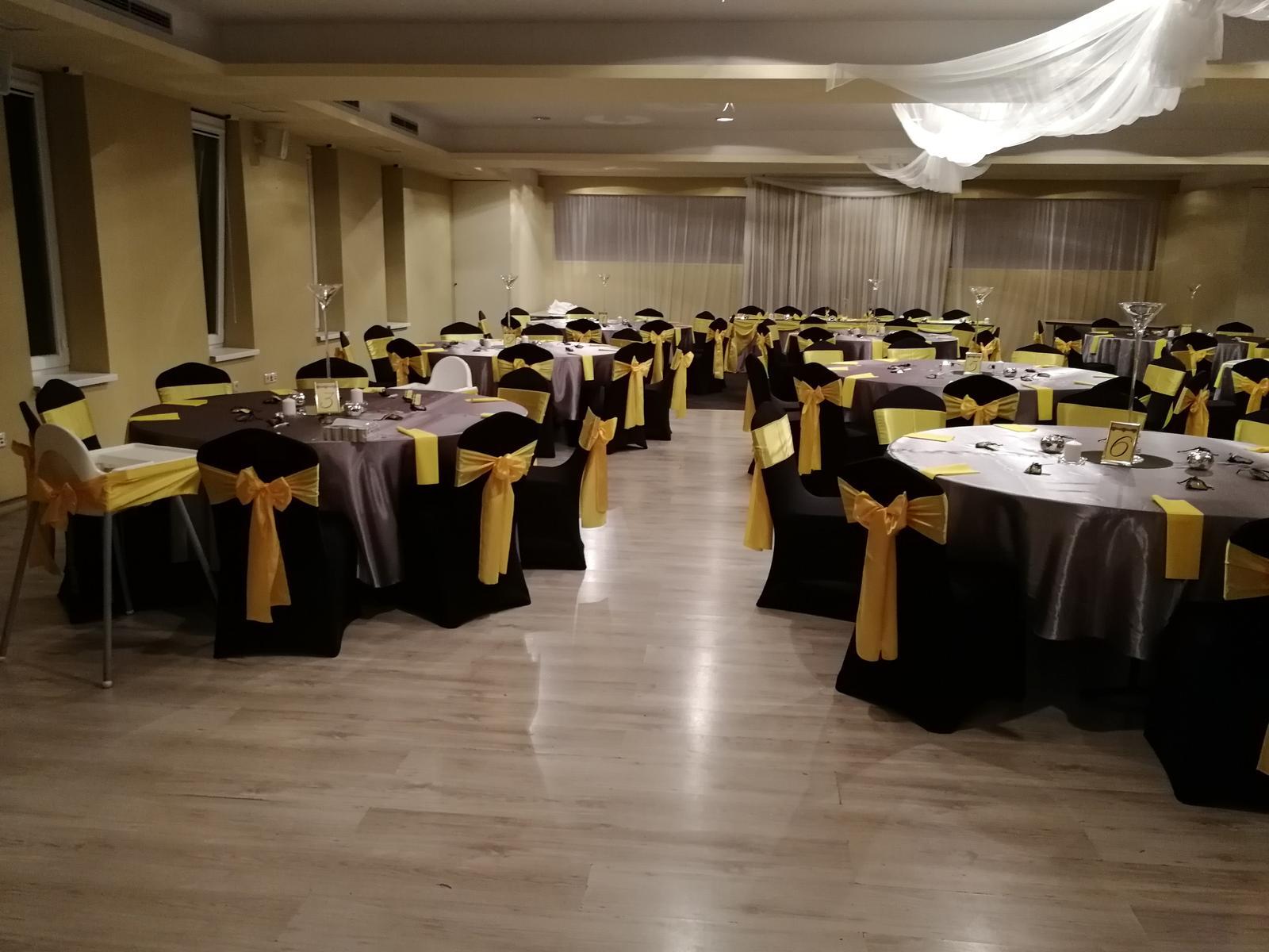 Svadba 14.9.2018 čierno-žlto-sivá kombinácia - Obrázok č. 9