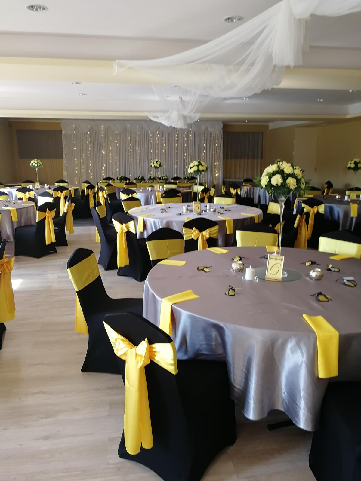Svadba 14.9.2018 čierno-žlto-sivá kombinácia - Obrázok č. 17