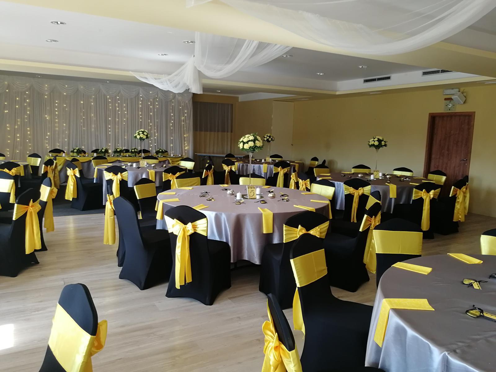 Svadba 14.9.2018 čierno-žlto-sivá kombinácia - Obrázok č. 21