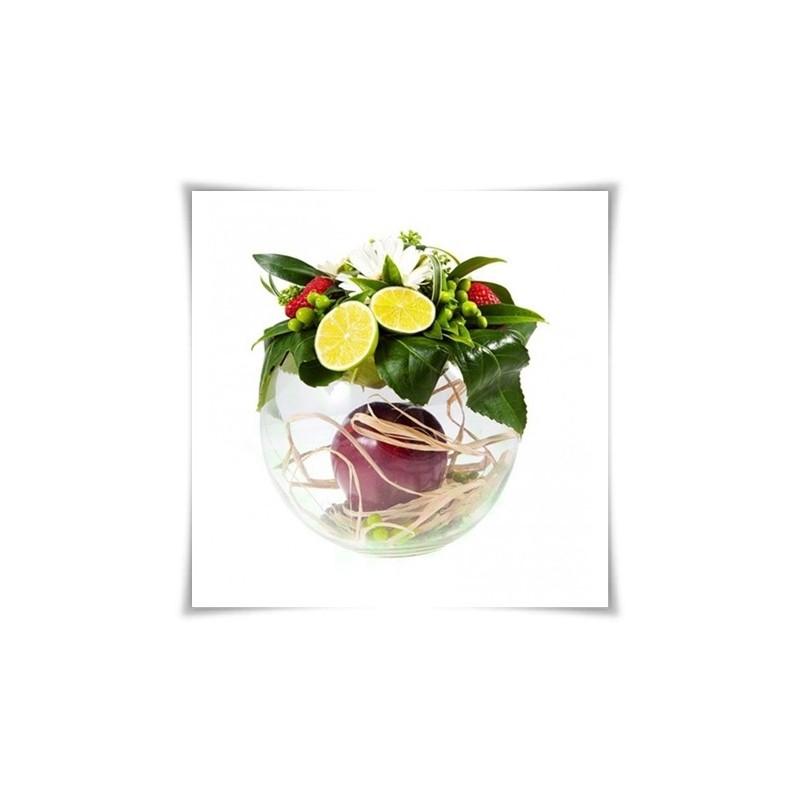 Materiál na prenájom - váza guľa