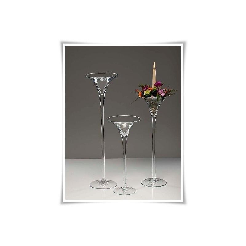 Materiál na prenájom - Martini váza 40cm,50cm,60cm