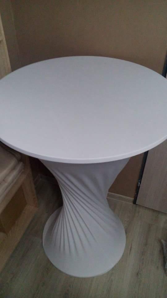 Materiál na prenájom - stand by stoly