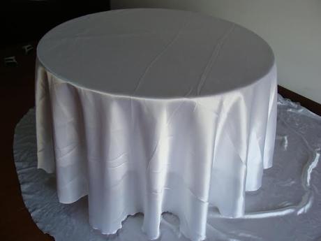 Okruhle stoly s obrusmi - Obrázok č. 1