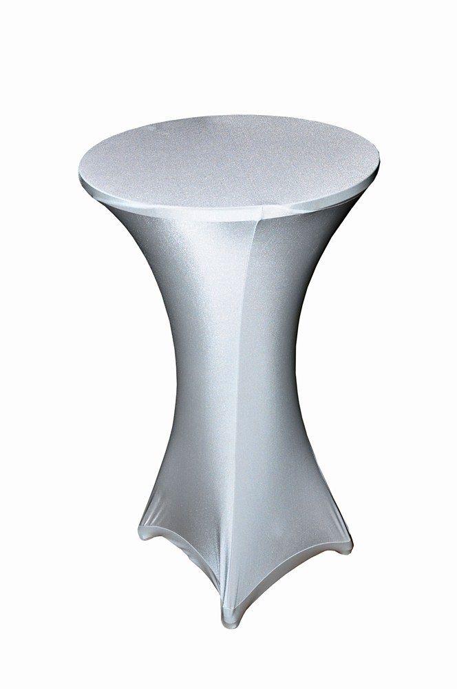 Elastický obrus na stand by stôl okruhly  - Obrázok č. 1