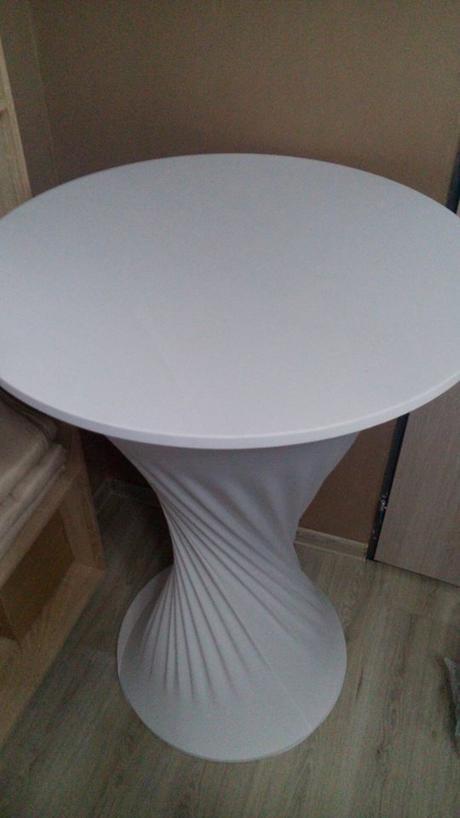Elastický obrus na stand by stôl okruhly  - Obrázok č. 2
