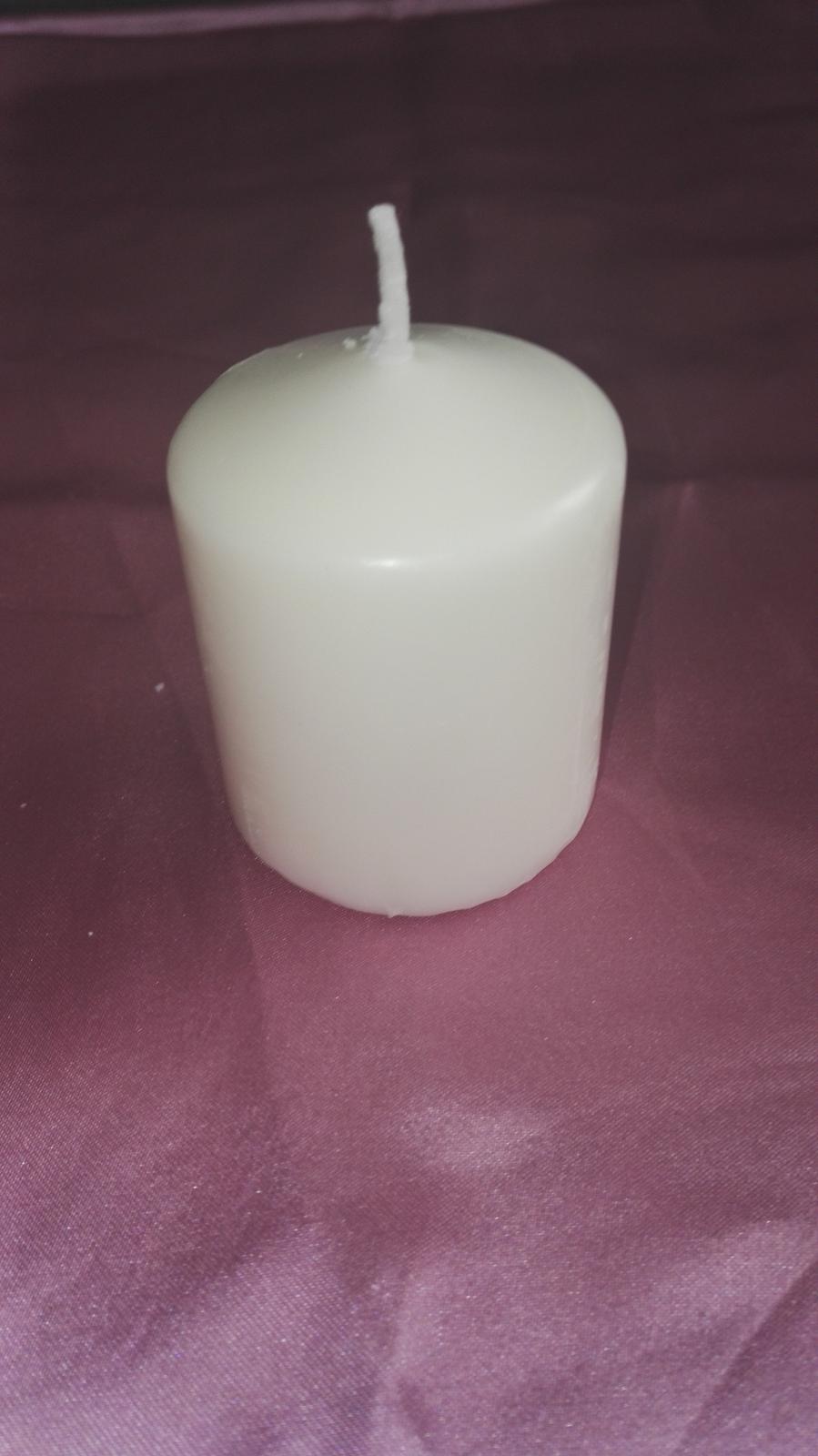 sviečka valec  - Obrázok č. 1