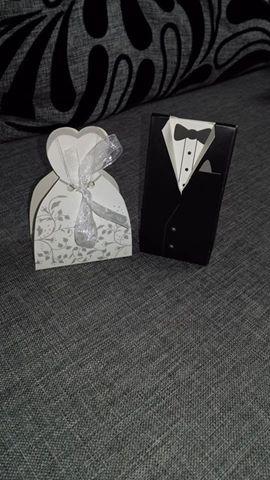 Krabička ženích a nevesta  - Obrázok č. 1