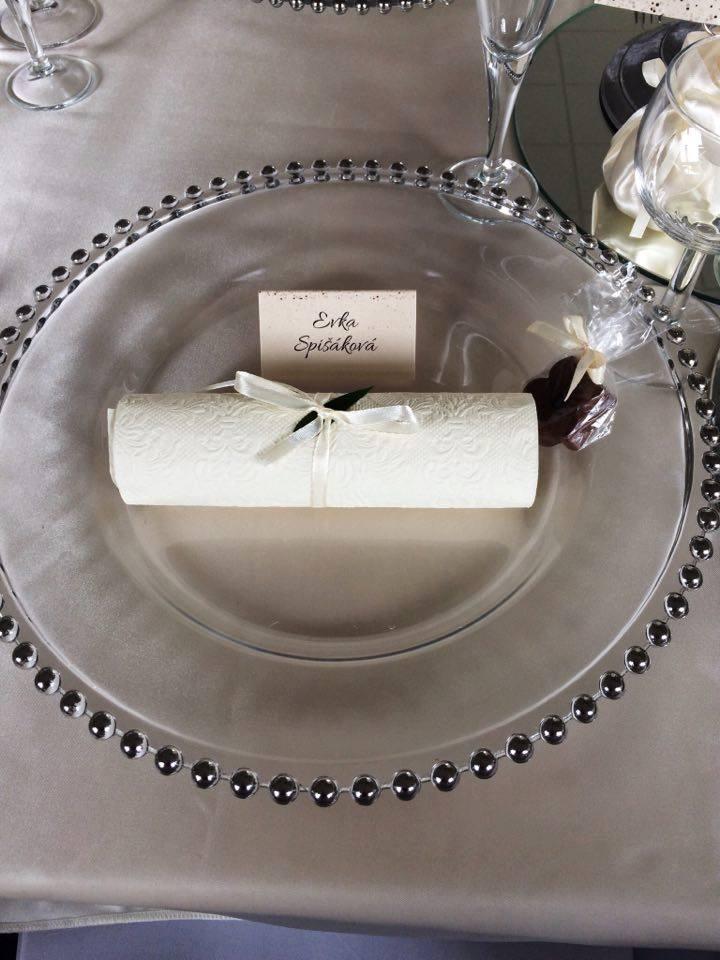 Luxusné klubové taniere  - Obrázok č. 3