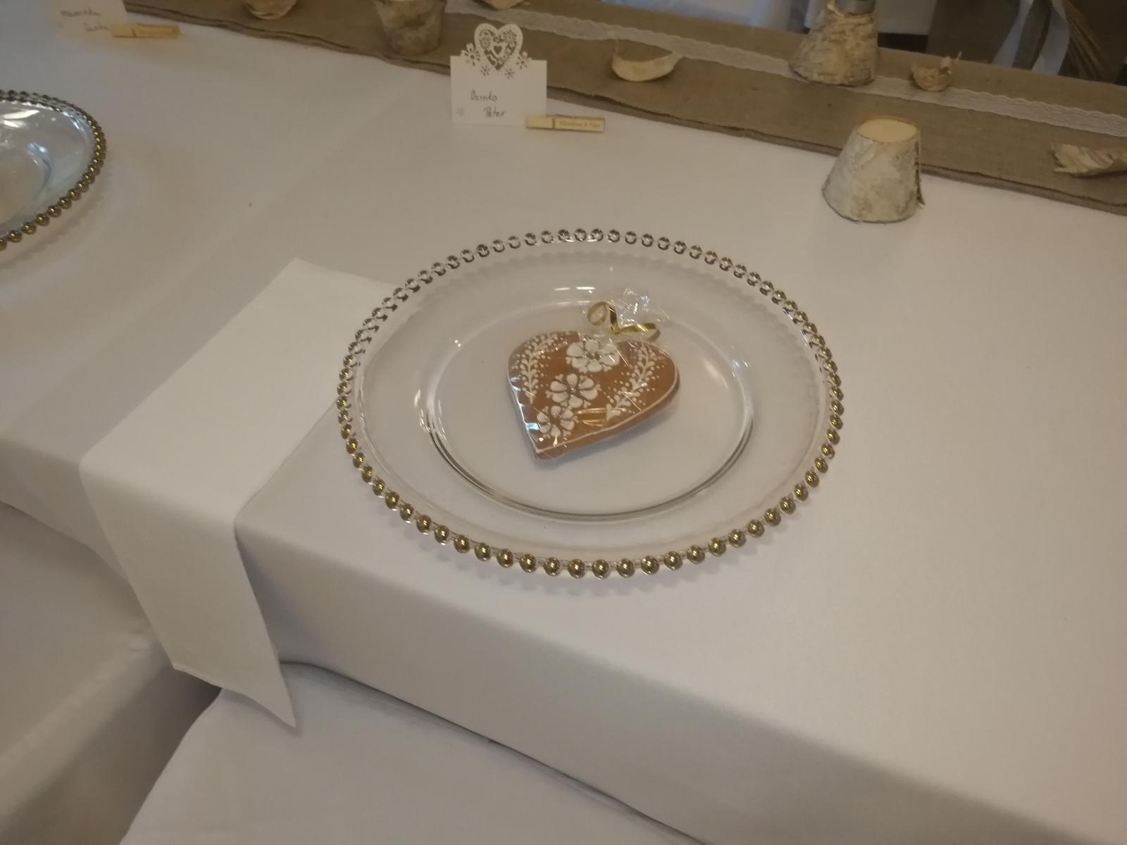 Luxusné klubové taniere  - Obrázok č. 1