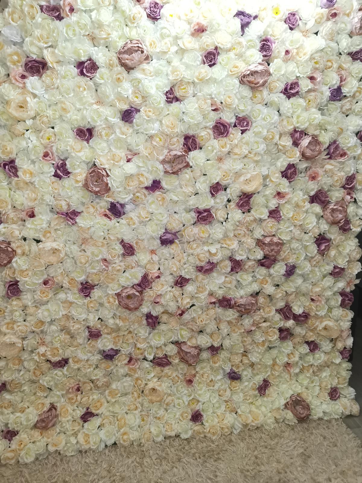 Kvetinová stena 2m x 2,5m  - Obrázok č. 1