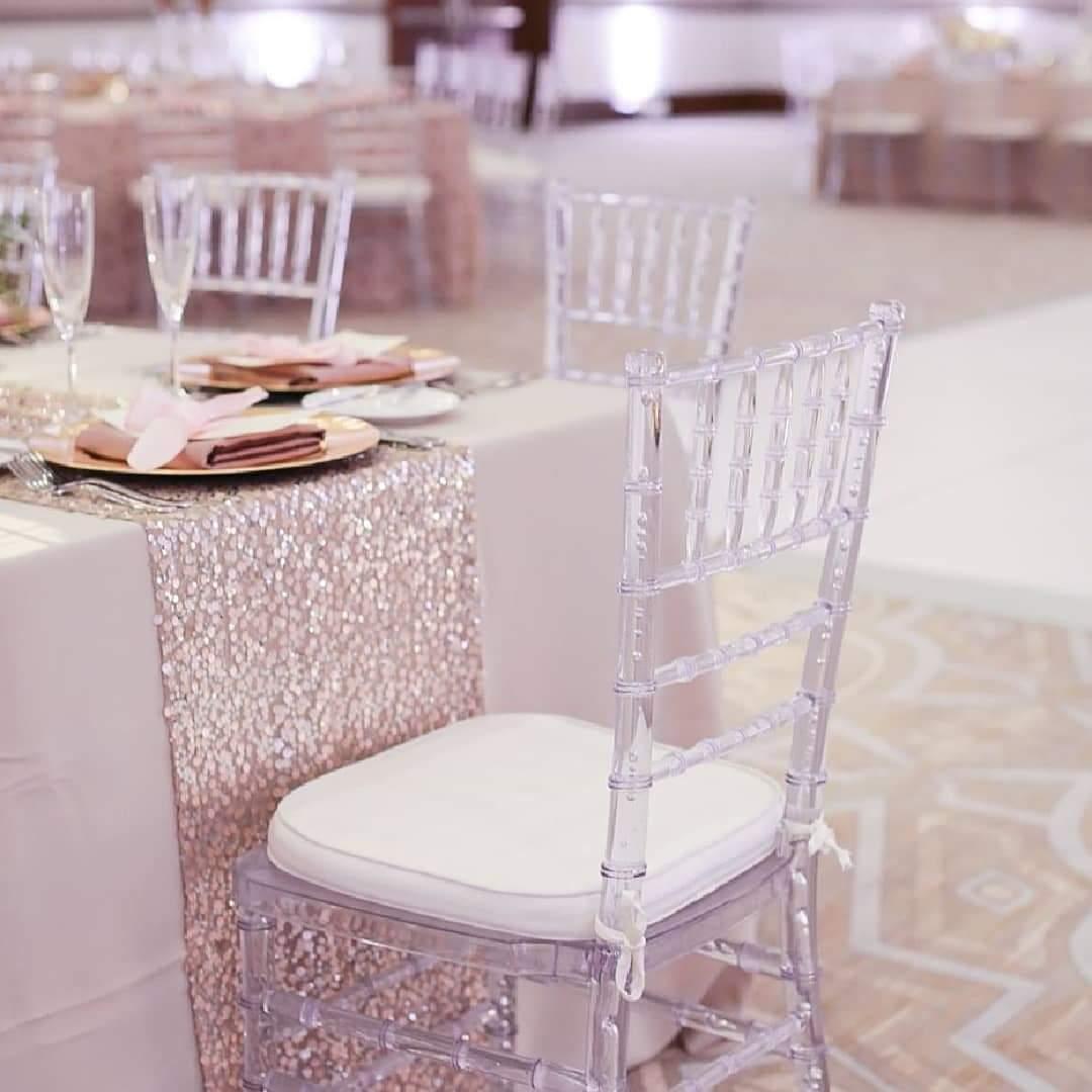 Transparentné stoličky  - Obrázok č. 1