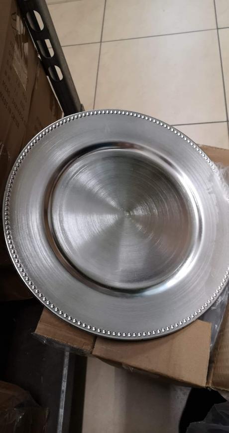 Strieborné klubové taniere  - Obrázok č. 1