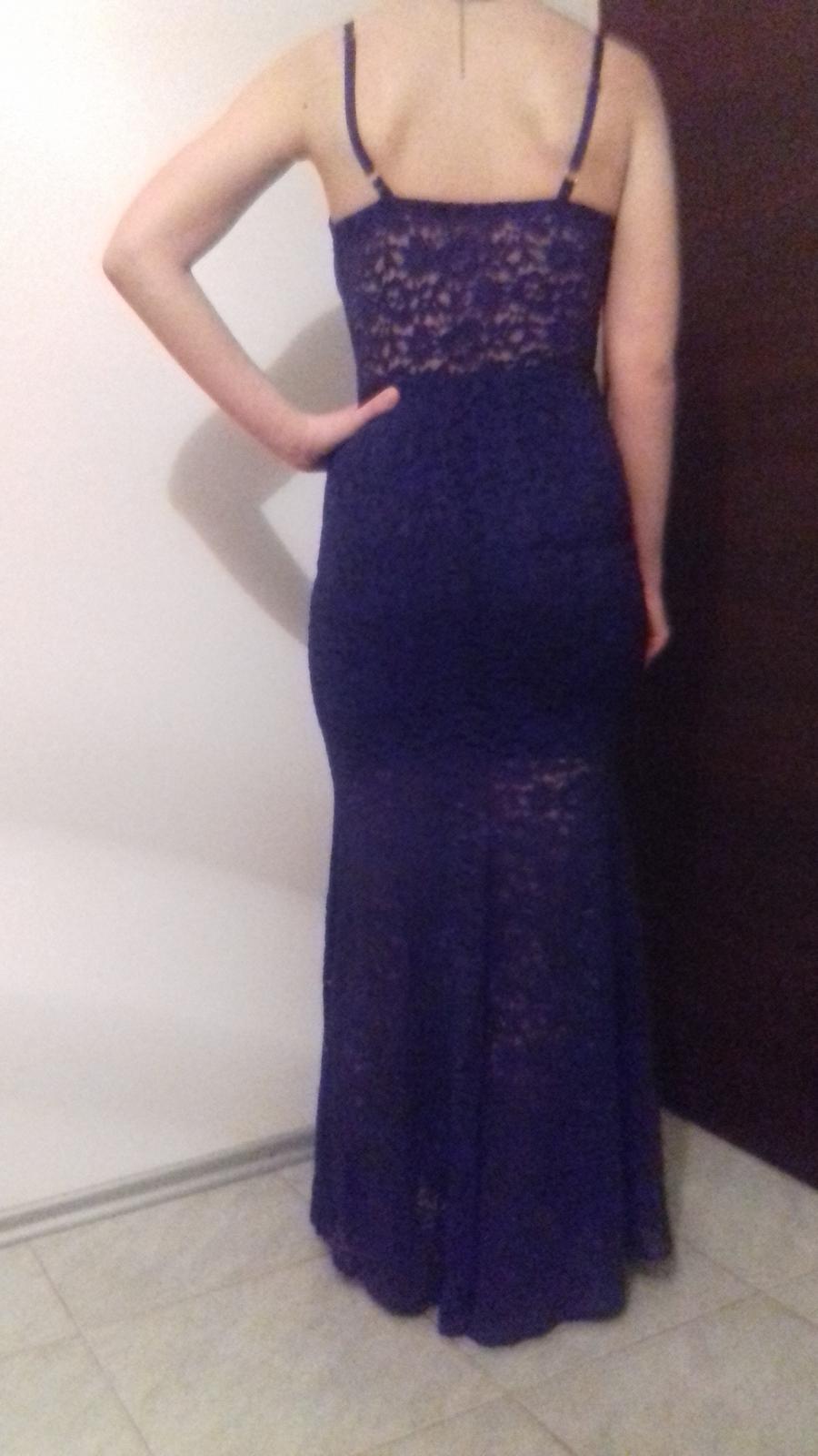 Modré šaty - Obrázok č. 2