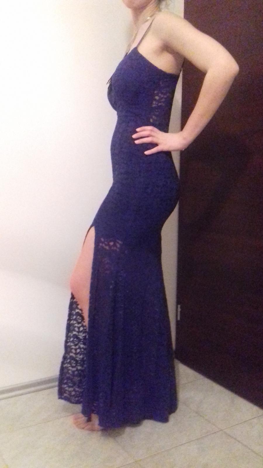 Modré šaty - Obrázok č. 3