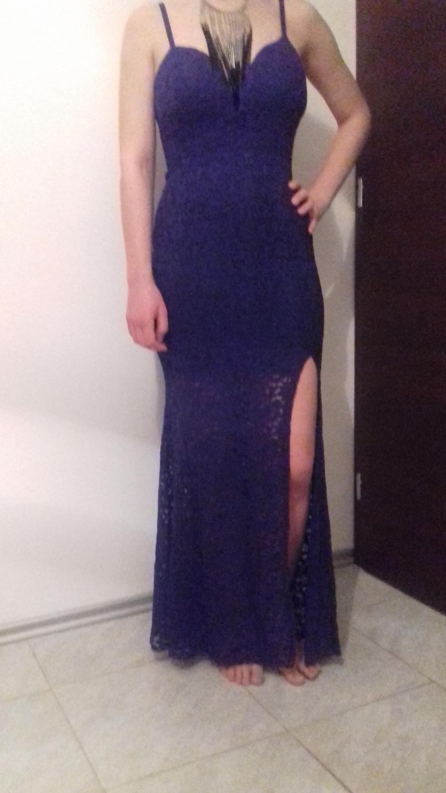 Modré šaty - Obrázok č. 1