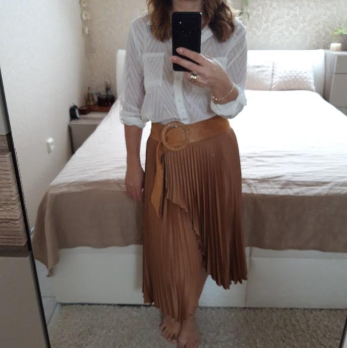 Skladaná sukňa - Obrázok č. 3