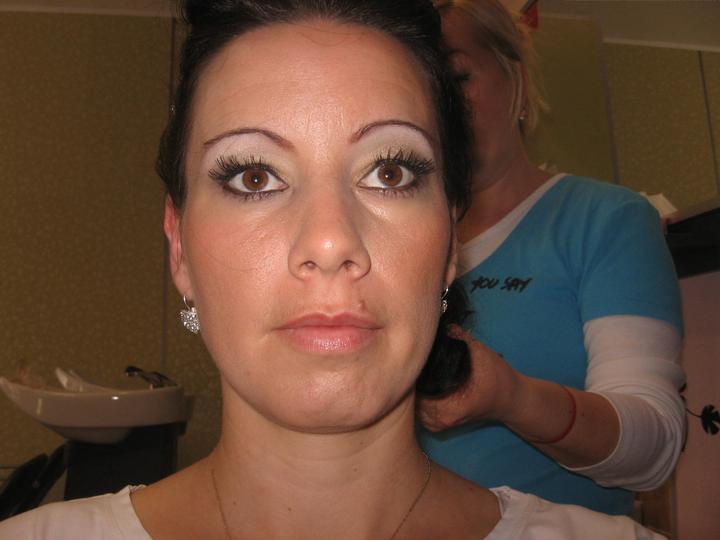 "Monika Balazova-Karvay{{_AND_}}Stefan Karvay - Moja skuska-,, make-up"""